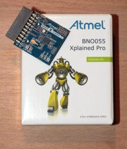 BNO055 Xplained Pro Board