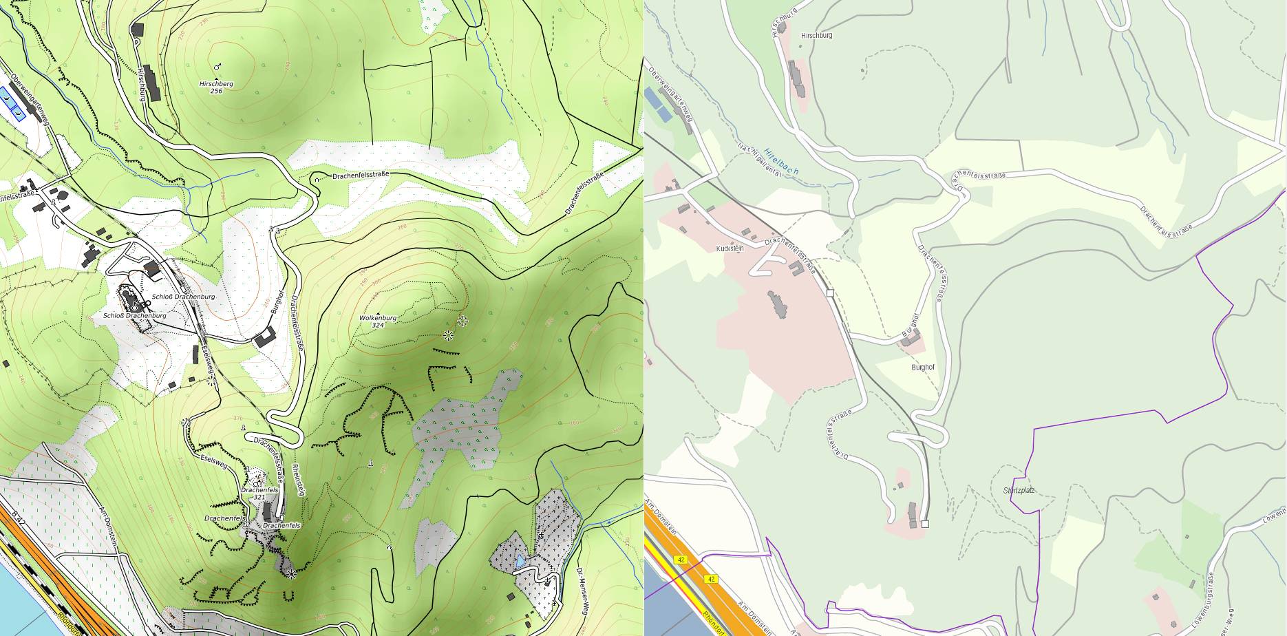 """Creating the """"Perfect"""" Hiking Map for Germany and other"""