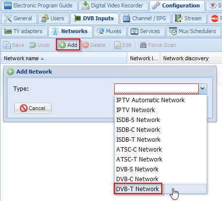 DVBT network