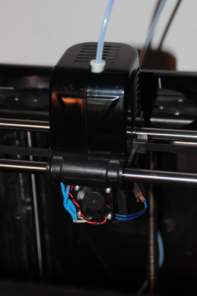 Fully mounted in the printer (View 1)