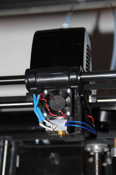 Fully mounted in the printer (View 2)