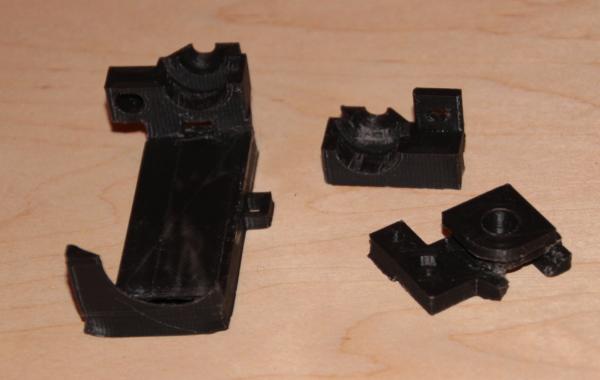 Parts printed