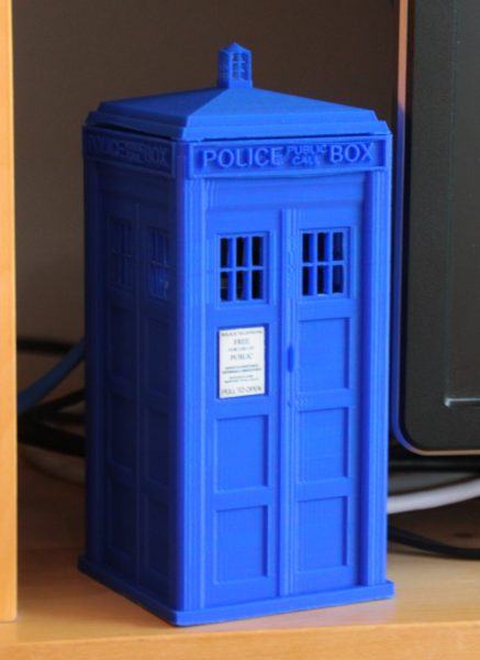 The Tardis for the Raspberry Pi 4